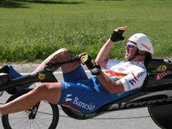 Hoge snelheden M5 Carbon Low Racer op EK Oostenrijk; Helmut Lechner Europees Kampioen