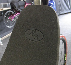 Ibiliet cushion with M5 logo
