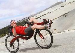 Mont Ventoux, downhill 107 km / h (66.5 mph)  with the M5 Carbon High Racer