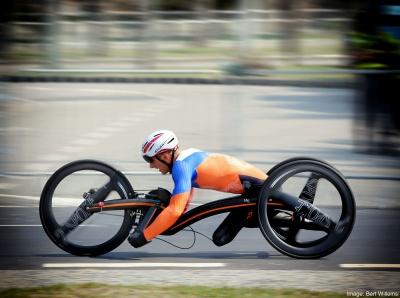 Twee gouden, een zilveren en een bronzen medaille tijdens Paralympics Rio 2016 met het M5 2-SPOKE wiel