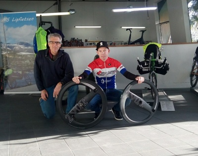 New sponsorship between 2-SPOKE and multiple Dutch Time Trial Champion Remco Grasman.