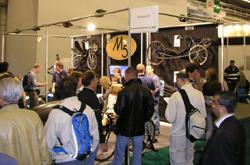 Salon du Cycle 2005: M5 stand busily engaged